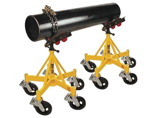 Cavalete para apoio e movimentação de grandes tubulações (Ref. 781403) - 1