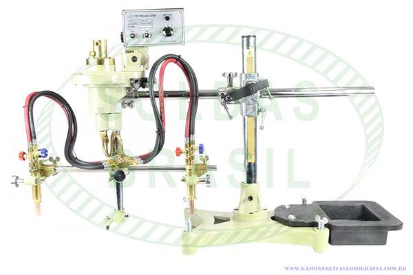 Máquina semi-automática tartaruga para corte de flange SB-600II - 1