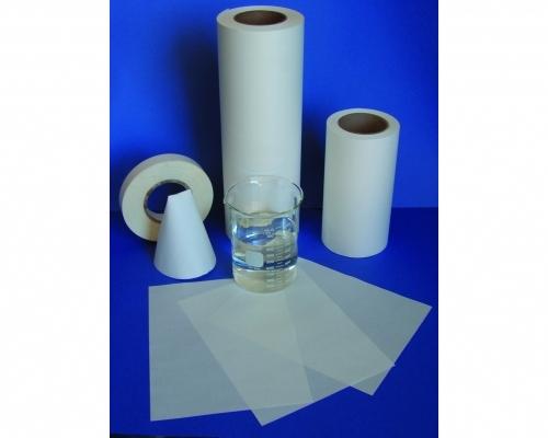 Papel e fita de purga solúvel em água - 1