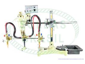 Máquina semi-automática tartaruga para corte de flange SB-600II