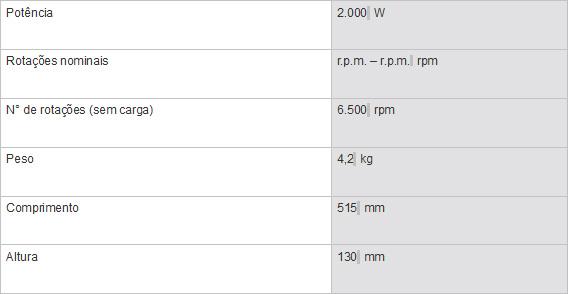 "Esmerilhadeira Angular 9"" GWS 20-230"